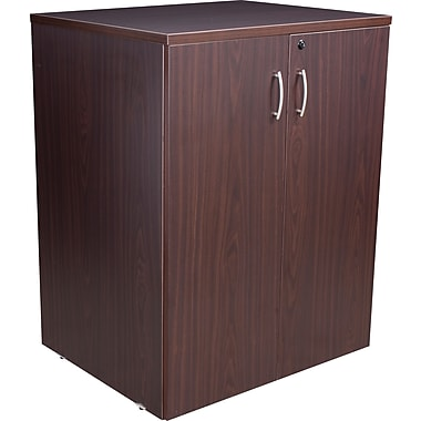 Regency® Sandia Storage Hutch/Cabinet, Mocha Walnut