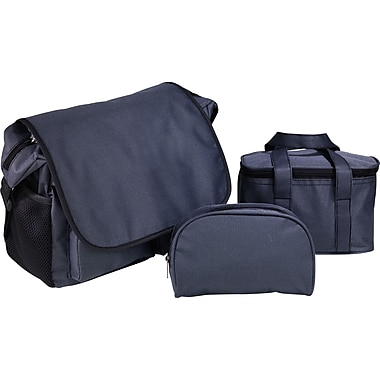 3 piece Saint Cloud Messenger tote set