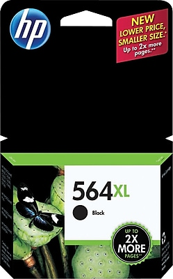 HP 564XL Black Ink Cartridge High Yield CN684WN 140