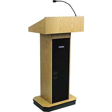 AmpliVox Sound Systems Executive Sound Column, Oak (S505-OK)
