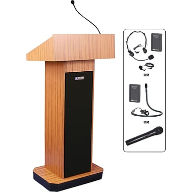 Amplivox Wireless Executive Sound Column Lectern (MO)