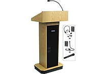Amplivox Wireless Executive Sound Column Lectern (MH)