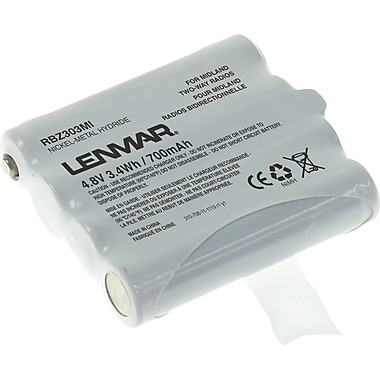 Midland BATT6R battery by Lenmar for Midland LXT276, LXT376, LXT314, LXT440 Two Way Radios
