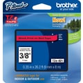 Brother®  TZe-421 P-Touch® Label Tape, 3/8in. Black on Red