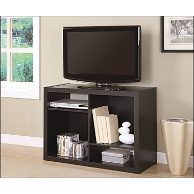 Monarch Specialties TV Stand/Bookcase Combo, 38