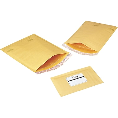 Pull-Tape Bubble Mailer, 10-1/2