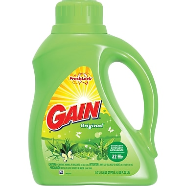 Ultra Gain® 2x Liquid Laundry Detergent, Original , 50 oz.