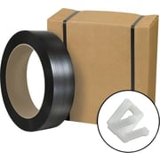 "Staples® Postal-Approved Poly Strapping Kit, 1/2"" x 9,000', 1 Kit"