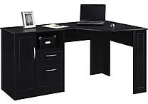 Altra™ Chadwick Collection Corner Desk, Nightingale Black