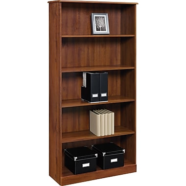 Altra™ Chadwick Collection 5-Shelf Bookcase, Virginia Cherry