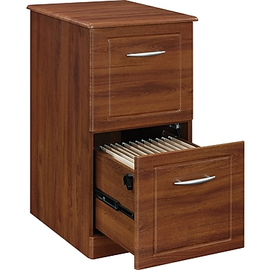 Altra™ Chadwick Collection 2-Drawer Vertical File, Virginia Cherry