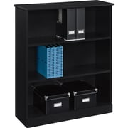 Altra™ Chadwick Collection 3-Shelf Bookcase, Nightingale Black