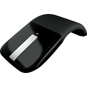 Microsoft Arc Touch Wireless Mouse, BlueTrack USB Wireless Mouse, Black (RVF-00052)