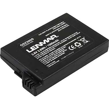 Lenmar Replacement Battery for Sony PSP-S110 (GSZ300S)