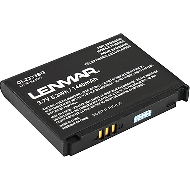 Lenmar Replacement Battery for Samsung SPH-M900 Moment Cellular Phones