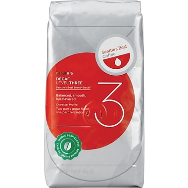 Seattle's Best Coffee® Level 3 Whole Bean Coffee, Decaffeinated, 12 oz. Bag