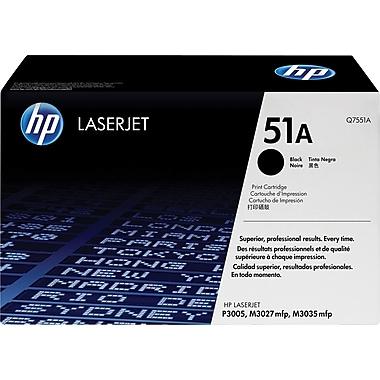 HP 51A (Q7551A) Black Original LaserJet Toner Cartridge