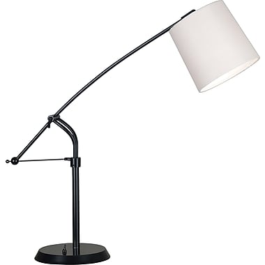 Kenroy Home Reeler Adjustable Table Lamp, Oil Rubbed Bronze Finish