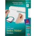 Avery® Memo-Size Index Maker® 8 Tab Set for Laser and Inkjet Printers