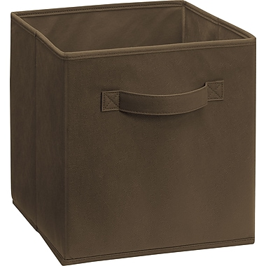 ClosetMaid® Cubeicals Fabric Drawer Organizer. Brown