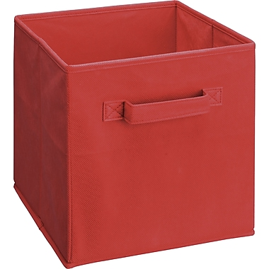 ClosetMaid® Cubeicals Fabric Drawer Organizer. Red