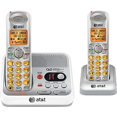 AT&T EL52210 Cordless Phone with Caller ID and Digital Answering System