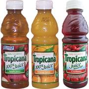 Tropicana® 100% Juice, 10 oz. Bottles, 24/Case