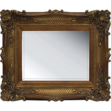 Studio Arts Westchester Mirror, Antique Gold