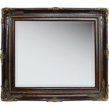 Studio Arts Greenwich 24in. x 28in. Mirror, Chestnut