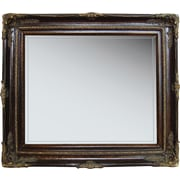 Studio Arts Greenwich 24 x 28 Mirror, Chestnut
