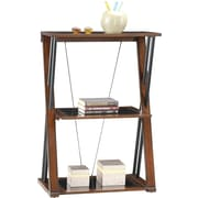 "Whalen® Astoria 3-Shelf 40""H Bookcase, Brown Cherry (ATBK-P2-CC)"