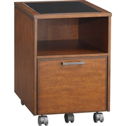 Whalen® Astoria File Cart, Brown Cherry