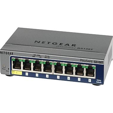 NETGEAR – Commutateur intelligent Ethernet Gigabit Prosafe 8 ports Gs108T