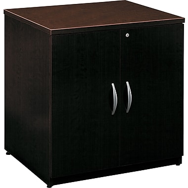 Bush Westfield 30in.W Storage Cabinet, Mocha Cherry