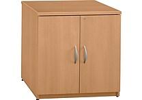 Bush Business Westfield 30W Storage Cabinet, Danish Oak