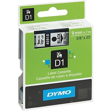DYMO® D1 Label Tape, 9mm (3/8