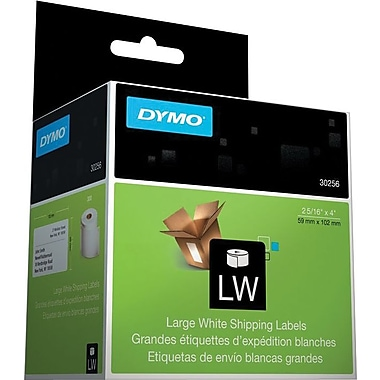 DYMO LabelWriter Large White Shipping Labels, 2-5/16in. x 4in.