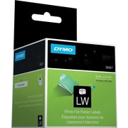 "DYMO® LabelWriter 1-up File Folder Labels, 9/16"" x 3-7/16"""