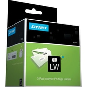 DYMO LabelWriter 3-Part Internet Postage Labels, 2-1/4 x 7