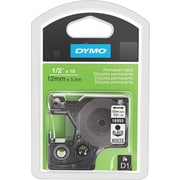 Dymo Black on White - 1/2 Tape