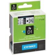 Dymo 53713 Black on White - 1 Tape