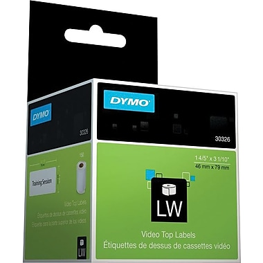 DYMO LabelWriter Video Top Labels (150/roll)