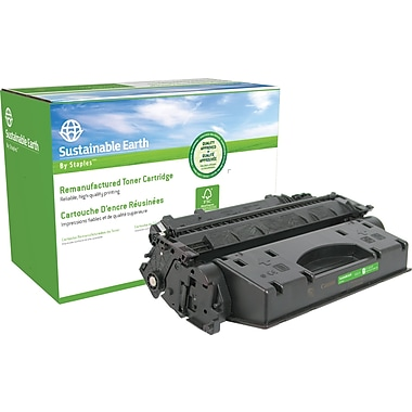 Staples™ Remanufactured Black Toner Cartridge, Canon CRG-120 (2617B001)