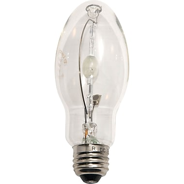 100 Watt Plusrite ED-17 Metal Halide Bulbs, Clear