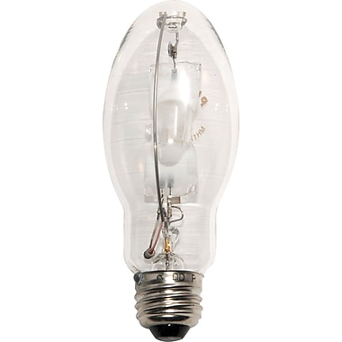175 Watt Plusrite ED-17 Metal Halide Bulbs, Clear, 6/Pack