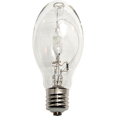 250 Watt Plusrite ED-28 Metal Halide Bulbs, Clear, 2/Pack