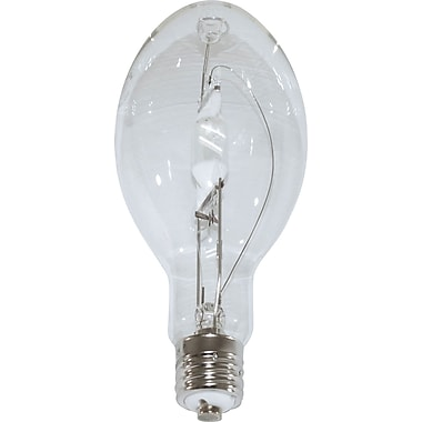 400 Watt Plusrite ED-37 Metal Halide Bulbs, Clear, 6/Pack