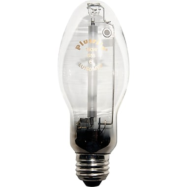 150 Watt Plusrite B-17 High Pressure Sodium Bulb, Clear