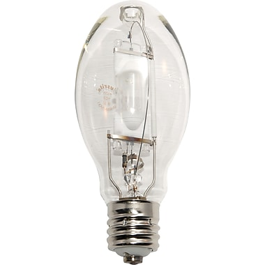 400 Watt Plusrite ED-28 Metal Halide Bulbs, Clear, 6/Pack