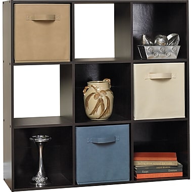 ClosetMaid® Cubeicals 9-Cube Storage Organizer, Espresso